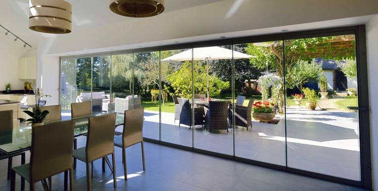 Frameless Glass Bifolding Doors Internal Amp Entrance Doors