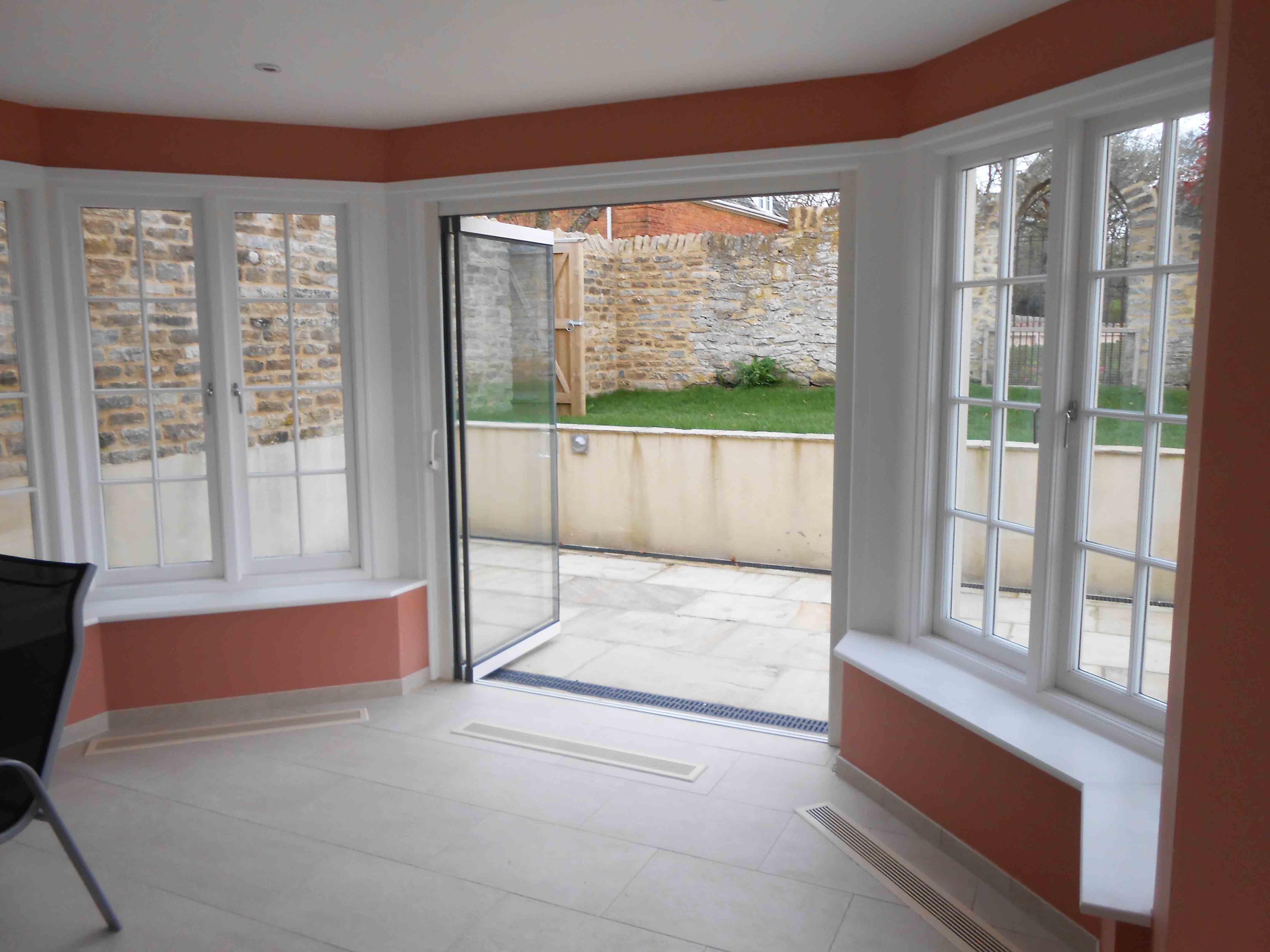 Internal glass room iders archives frameless glass bi fold doors - Larger And Better Views With Frameless Bifolding Doors