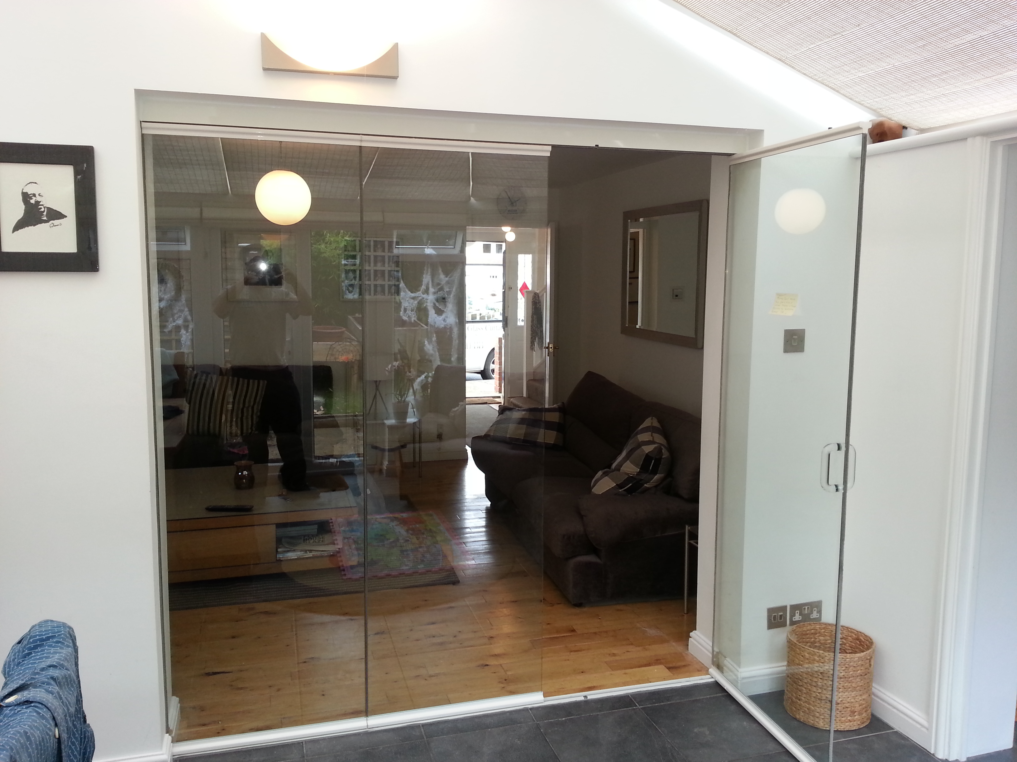 Our Doors Are Excellent To Link From Your Home To Your Conservatory Pic Of Room With Bifolding Door