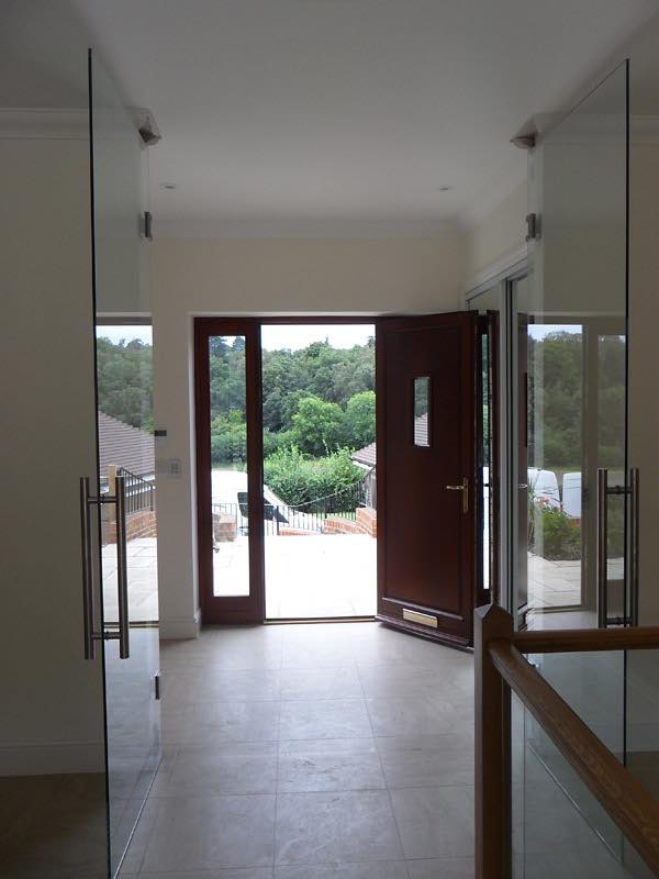 glass room dividers available as swing folding and sliding doors