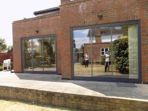 Our frameless glass doors are sold all over the UK