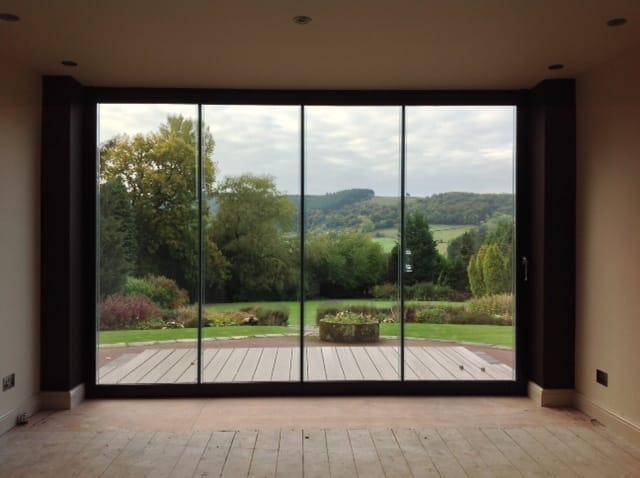 Three great reasons for choosing frameless bifolding doors