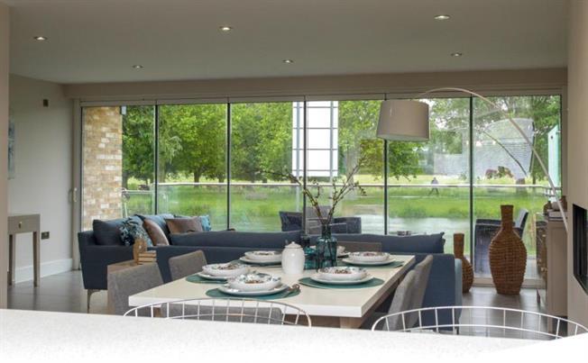 Bespoke homes enhanced with frameless bifolding doors.