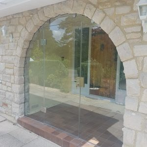 Dorset, Frameless Glass Porch