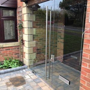 Frameless Glass Porch Solihull
