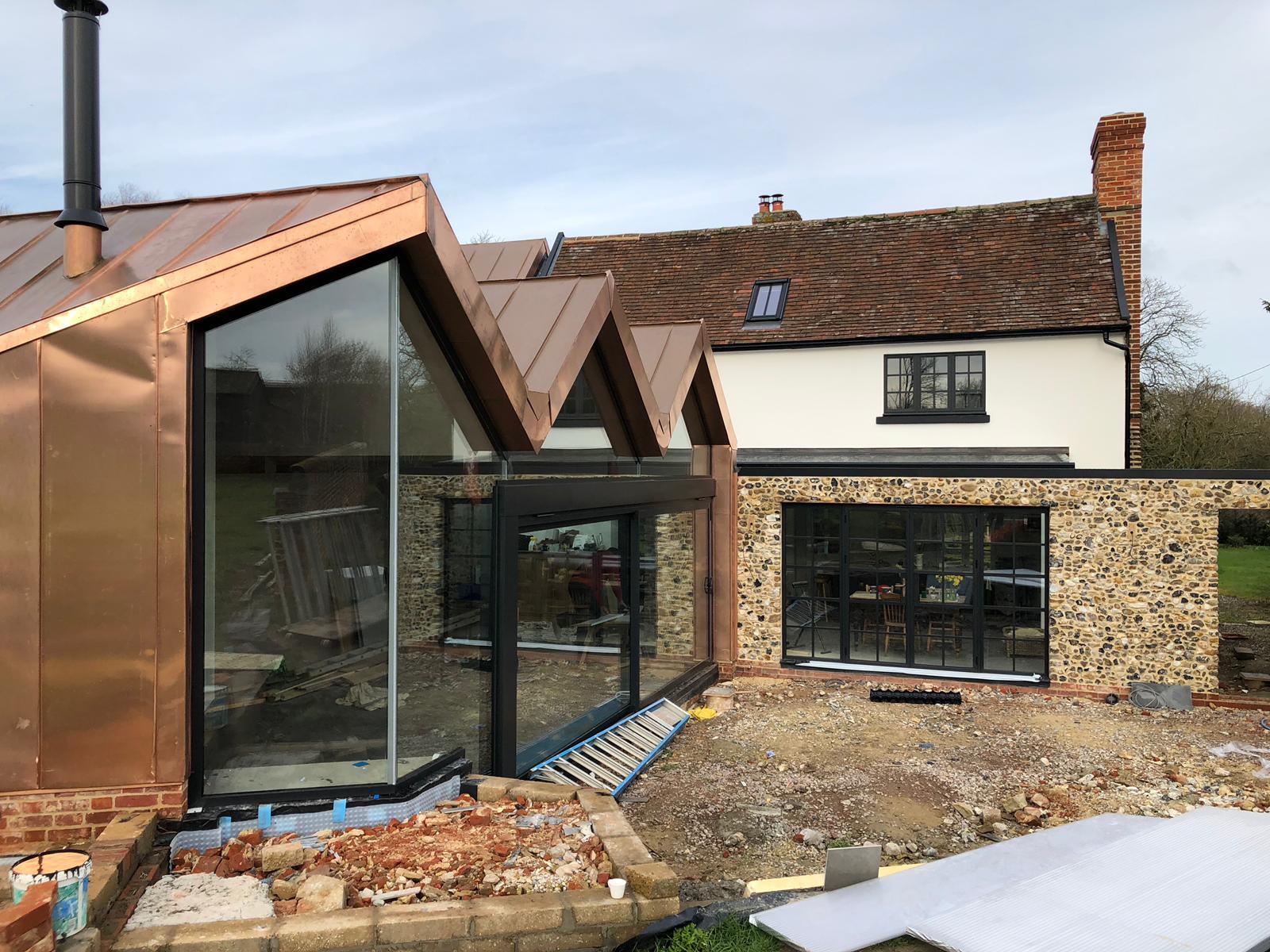 Frameless Glass Windows Suffolk