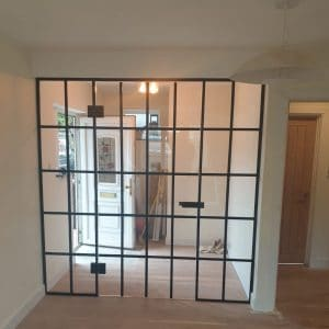 steel-look internal screen in Surrey